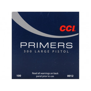 CCI Primer 300 Large Pistol