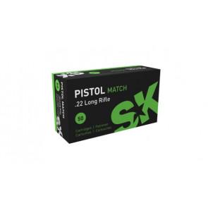 SK Pistol Match Smallbore Ammunition .22 lr