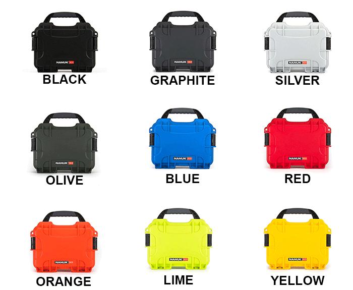 NANUK 933 Colours