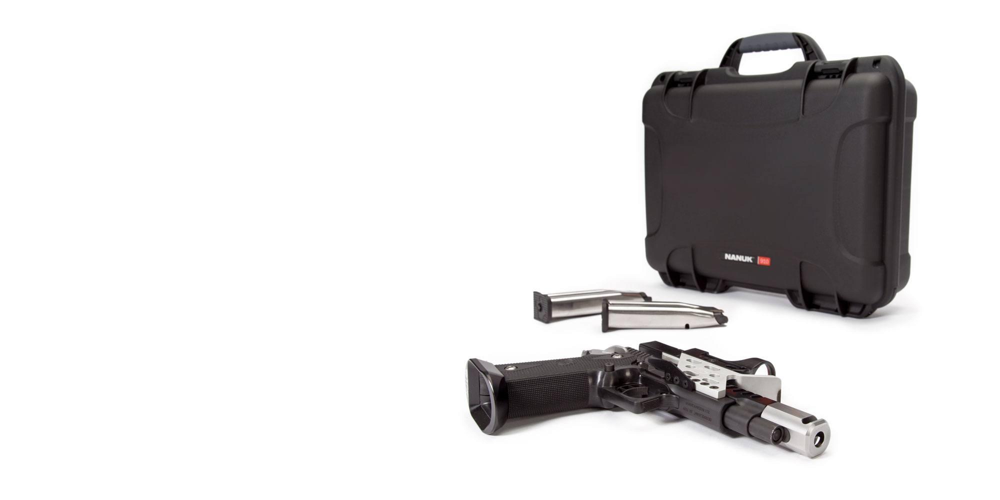 NANUK 910 Case for Handguns
