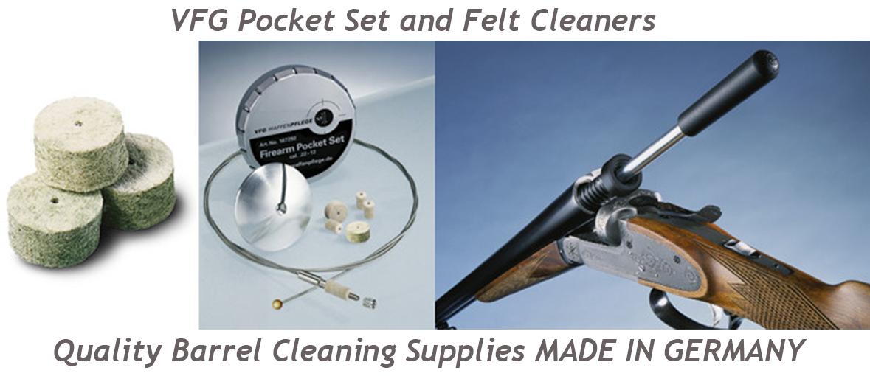 VFG Pocket set barrel cleaning